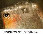water splashing down the sink... | Shutterstock . vector #728989867