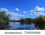 summer scenery | Shutterstock . vector #729024583