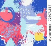 abstract vector creative...   Shutterstock .eps vector #729071557