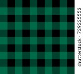 green flannel checkered plaid... | Shutterstock .eps vector #729225553