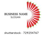 chili icon | Shutterstock .eps vector #729254767