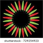 chili icon | Shutterstock .eps vector #729254923