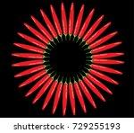 chili icon vector | Shutterstock .eps vector #729255193