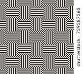 vector seamless pattern. modern ... | Shutterstock .eps vector #729287263