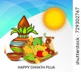 vector illustration of happy... | Shutterstock .eps vector #729302767