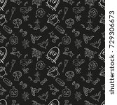 vector black and white seamless ...   Shutterstock .eps vector #729306673