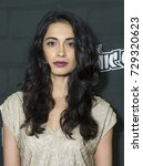 Small photo of New York, NY - October 6, 2017: Sarah-Jane Dias attends the annual Heroes After Dark event at Highline Ballroom as prt of New York Comic Con