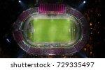 the stadium | Shutterstock . vector #729335497