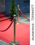 red carpet | Shutterstock . vector #729344377
