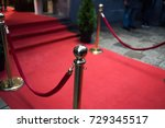 red carpet    is traditionally... | Shutterstock . vector #729345517
