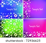 collection funny spring... | Shutterstock .eps vector #72936625