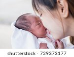 mother and baby | Shutterstock . vector #729373177