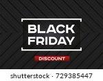 black friday sale. dark... | Shutterstock .eps vector #729385447