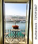 view from the balcony in porto | Shutterstock . vector #729391867
