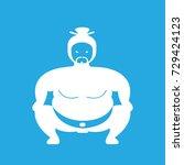 sumo icon vector | Shutterstock .eps vector #729424123