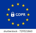 general data protection... | Shutterstock . vector #729521863