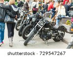different types of motorcycles... | Shutterstock . vector #729547267