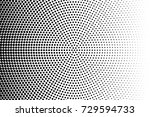 abstract futuristic halftone... | Shutterstock .eps vector #729594733