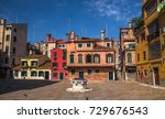 italy beauty  one of typical... | Shutterstock . vector #729676543