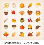 warm colorful traditional... | Shutterstock .eps vector #729752887