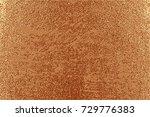 grunge design. copper glossy...   Shutterstock .eps vector #729776383