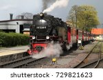 wernigerode  germany   april 20 ... | Shutterstock . vector #729821623