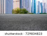 china's shanghai pudong... | Shutterstock . vector #729834823