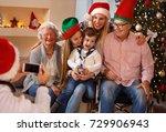 family  holidays  generation ... | Shutterstock . vector #729906943
