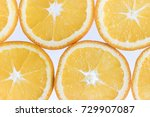 abstract background with citrus ... | Shutterstock . vector #729907087