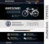 web design website elements...   Shutterstock .eps vector #72993151