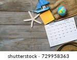 concept of travel vacation trip ...   Shutterstock . vector #729958363