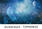 galaxy   elements of this image ... | Shutterstock . vector #729969823