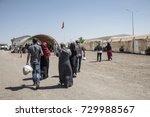 refugee camp for syrian people... | Shutterstock . vector #729988567