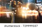 abstract microphone and... | Shutterstock . vector #729999337