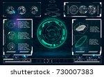 radar screen.hud infographic...