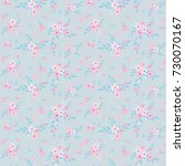 seamless floral pattern.... | Shutterstock .eps vector #730070167
