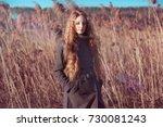 outdoor atmospheric lifestyle... | Shutterstock . vector #730081243