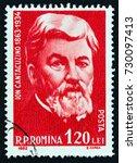 romania   circa 1962  a stamp... | Shutterstock . vector #730097413