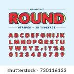 diagonal line alphabet letters... | Shutterstock .eps vector #730116133