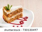honey cake | Shutterstock . vector #730130497
