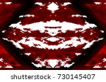 red black white aged grunge... | Shutterstock . vector #730145407