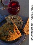 artisan made savoy olive loaf...   Shutterstock . vector #730187023