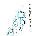 abstraction of mechanics ... | Shutterstock .eps vector #730192213