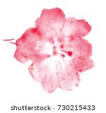 colorful abstract watercolor... | Shutterstock .eps vector #730215433