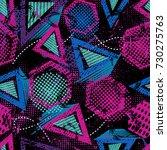 abstract sport seamless sport... | Shutterstock .eps vector #730275763