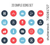 set of 20 editable job icons....