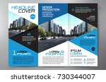 business brochure. flyer design.... | Shutterstock .eps vector #730344007