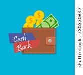 vector illustration of cash... | Shutterstock .eps vector #730370647