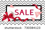 sale template. background with... | Shutterstock .eps vector #730384123