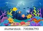 illustrations of the beauty of... | Shutterstock .eps vector #730386793